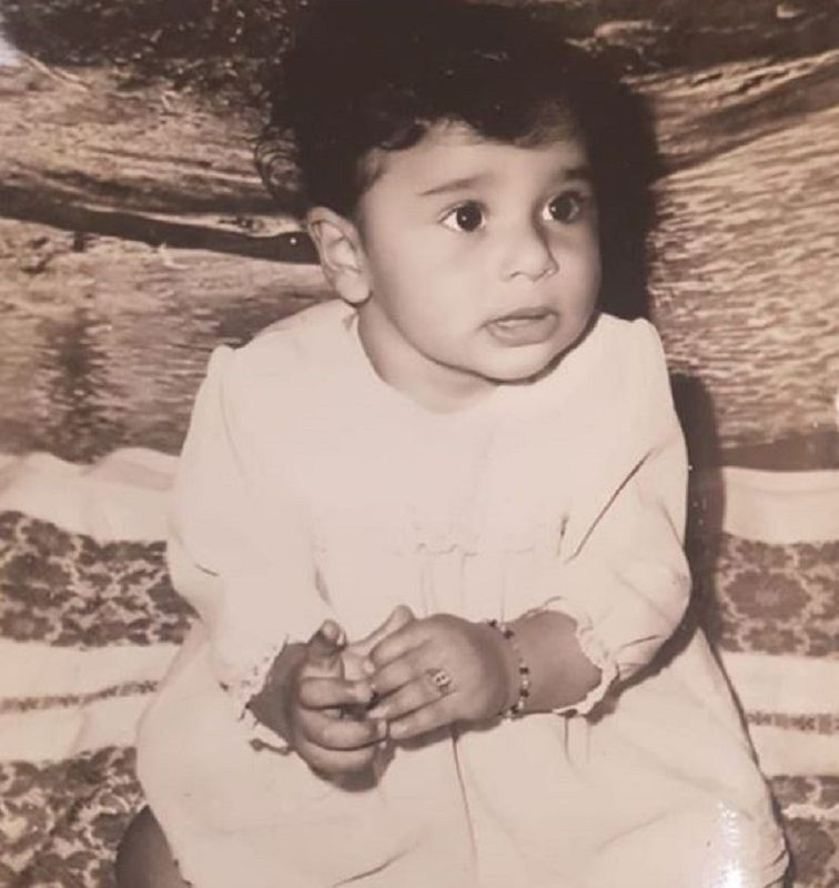 A Childhood Picture of Krushna Abhishek