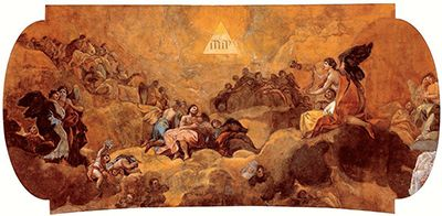 Adoration of the Name of God by Francisco Goya