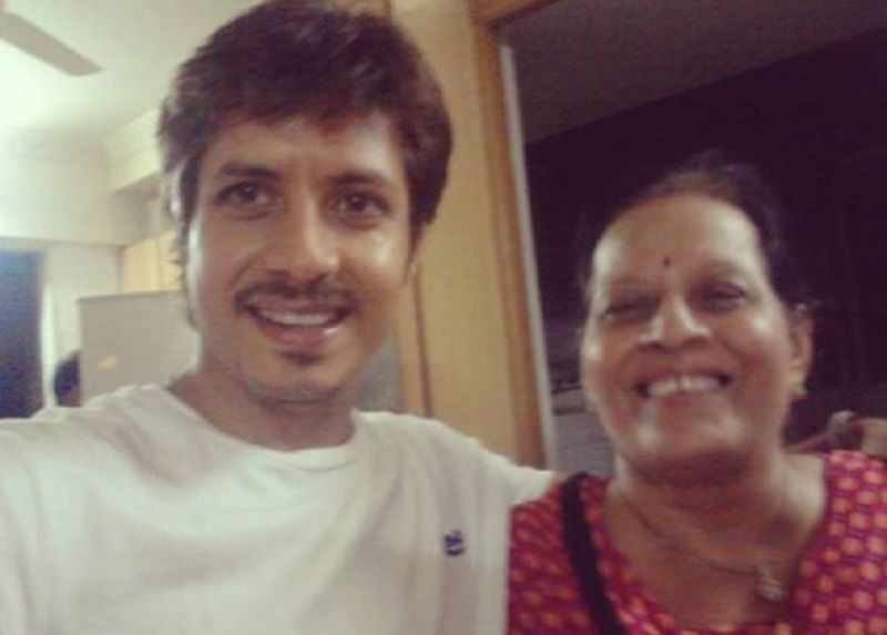 Amit Mistry With His Mother