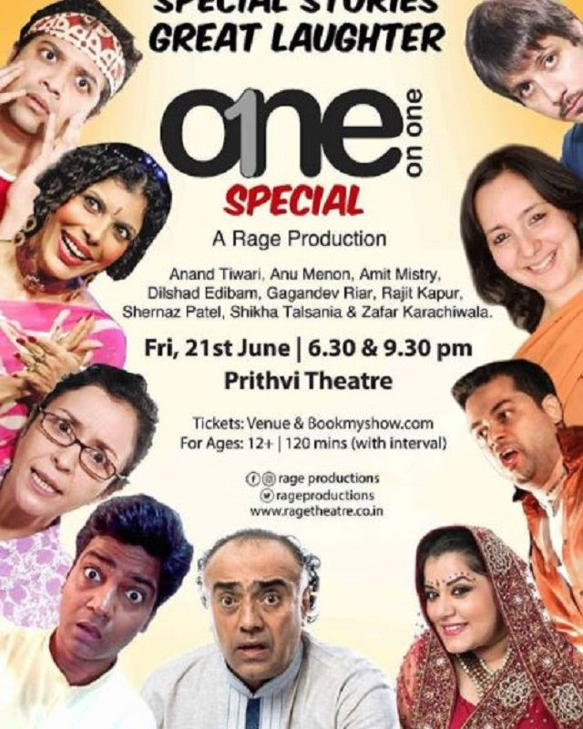 Amit Mistry in a Theatre Play