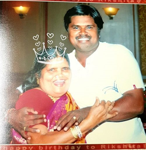 Amma Rajasekhar With His Mother