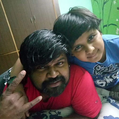 Amma Rajasekhar With His Son