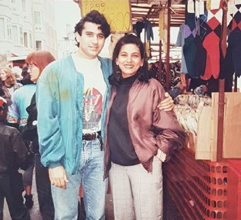 An Old Picture of Archana Puran Singh and Parmeet Sethi