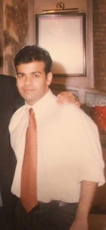 An Old Picture of Kiku Sharda