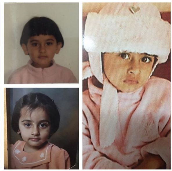 Anagha Bhosale's childhood pictures