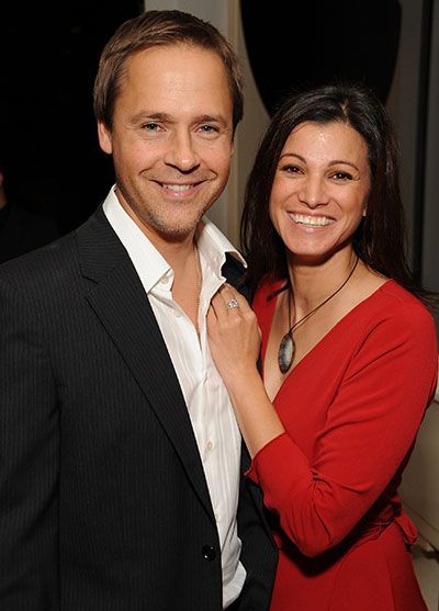 Chad Lowe with Kim Painter