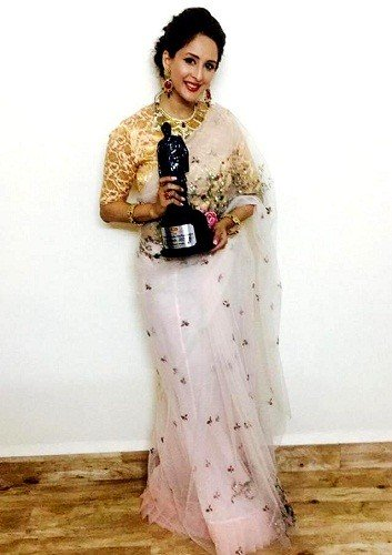 Chahatt Khanna with Dadasaheb Phalke Film Foundation Award