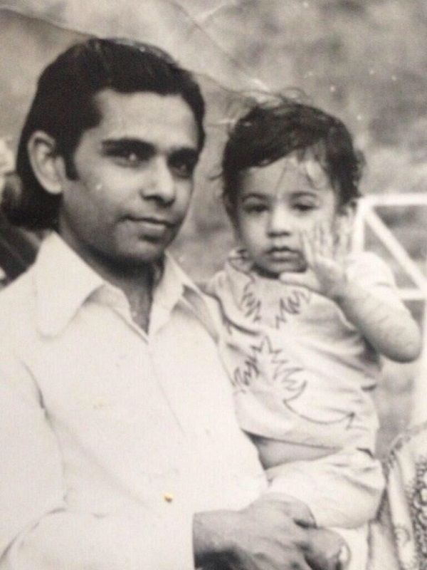 Childhood Picture of Kiku Sharda