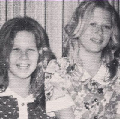 Childhood Picture of Sheryl Berkoff and her Sister