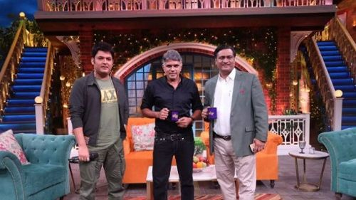 Dr Muffazal Lakdawala in The Kapil Sharma Show