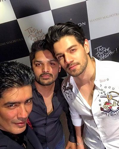 Imtiaz Khatri With Sooraj Pancholi and Manish Malhotra