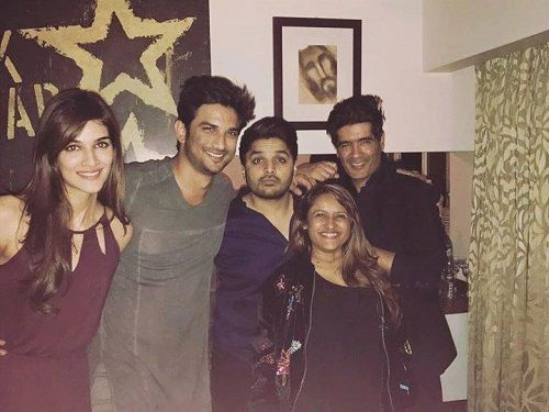 Imtiaz Khatri With Sushant Singh Rajput and Other Celebrities