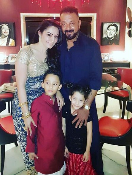 Iqra Dutt with her family
