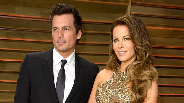 Kate Beckinsale with Len Wiseman