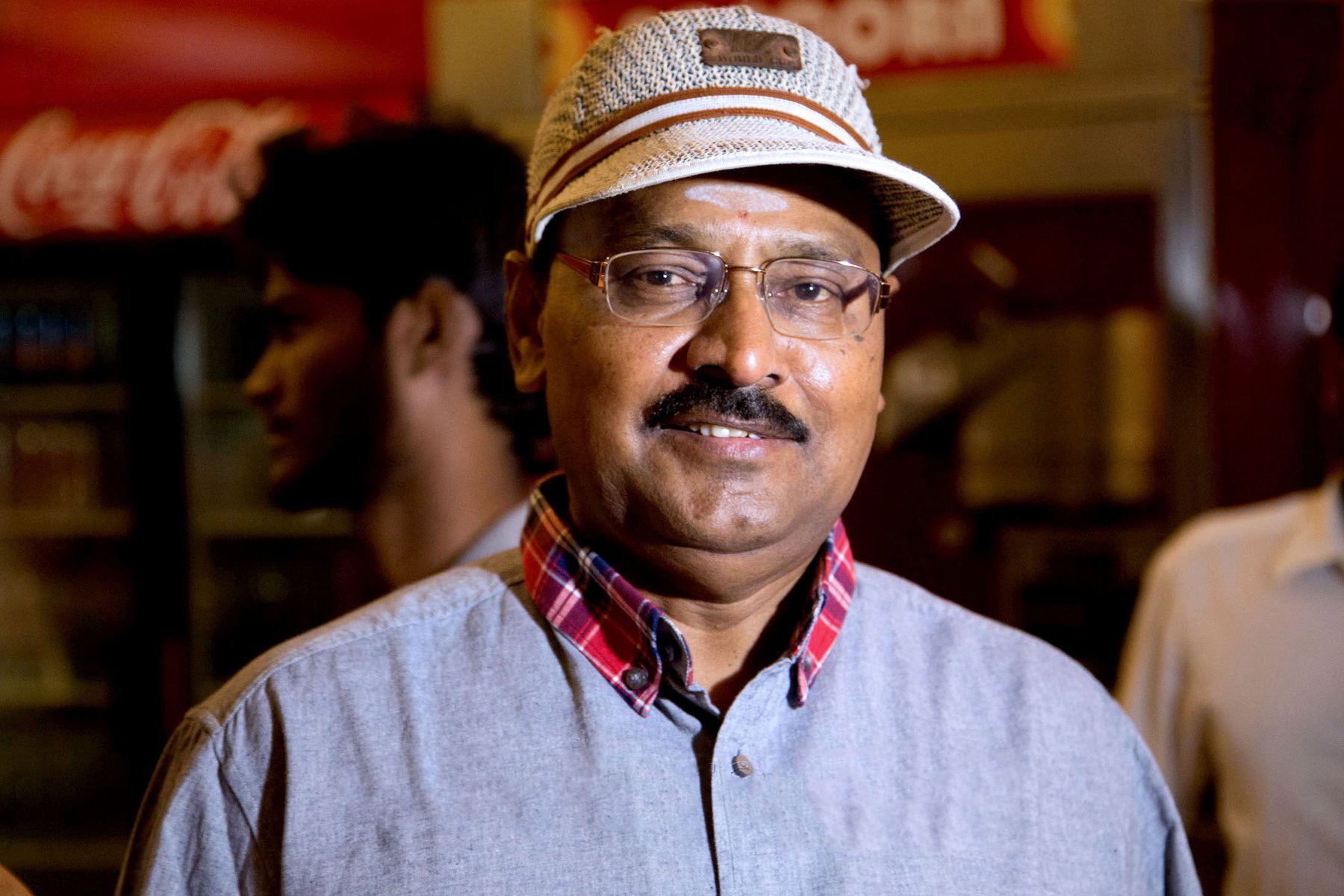 Keerthi Shanthanu's father-in-law