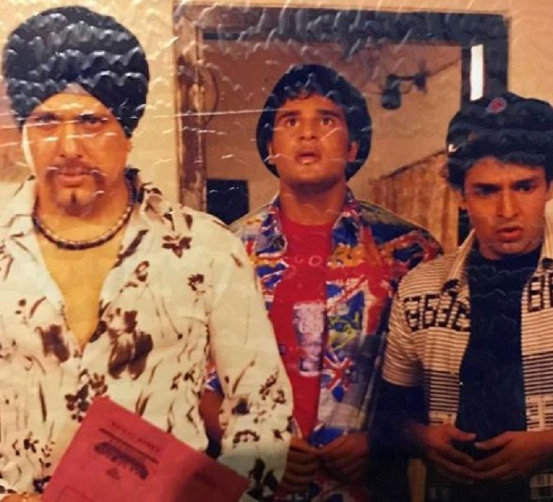 Krushna Abhishek With Govinda in a Film