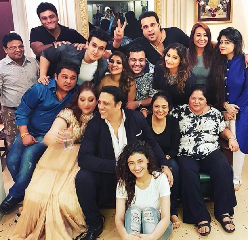 Krushna Abhishek With His Family