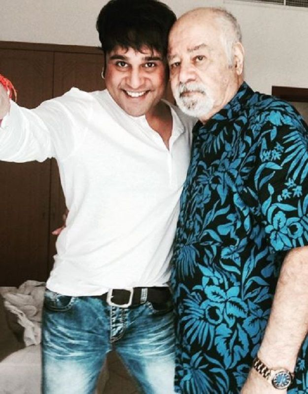 Krushna Abhishek and His Father