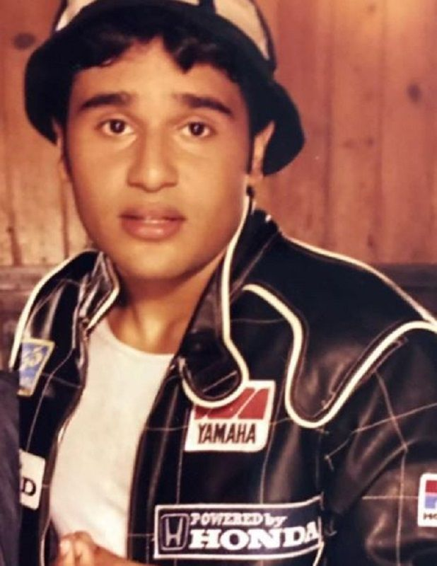 Krushna Abhishek at the Age of 18