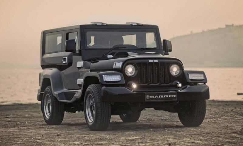 Mahindra Thar modified by Dilip Chhabria's DC Design