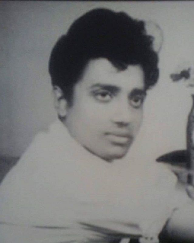 Morari Bapu in His Younger Days