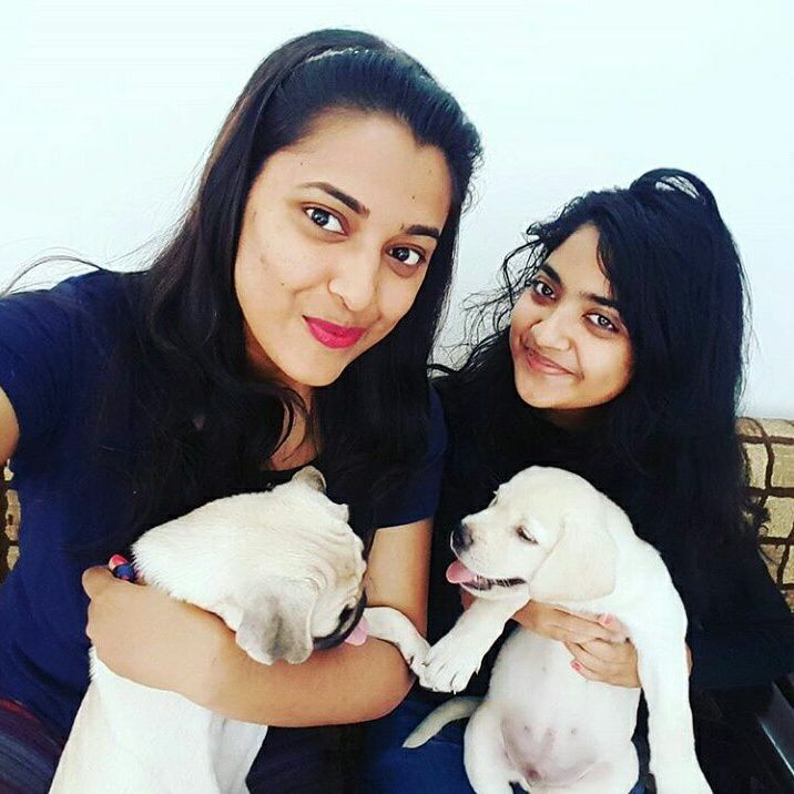 Nandana Varma loves dogs