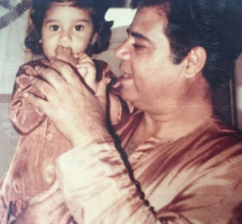 Old Picture of Krushna Abhishek With His Father