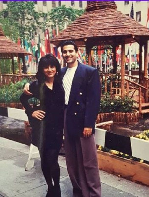 Old Picture of Parmeet Sethi and Archana Puran Singh
