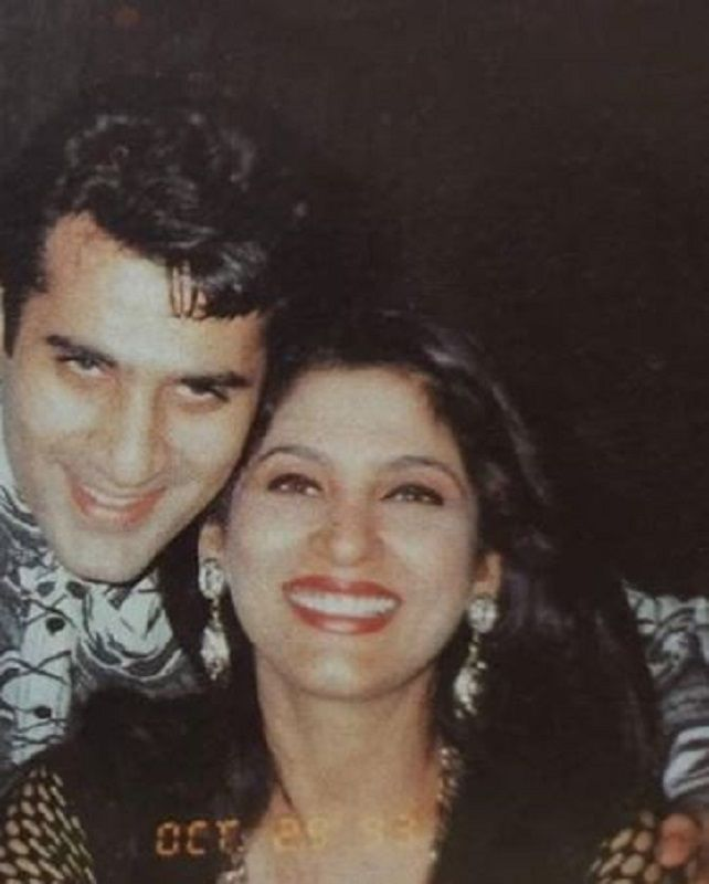 Parmeet Sethi and Archana Puran Singh in 1993