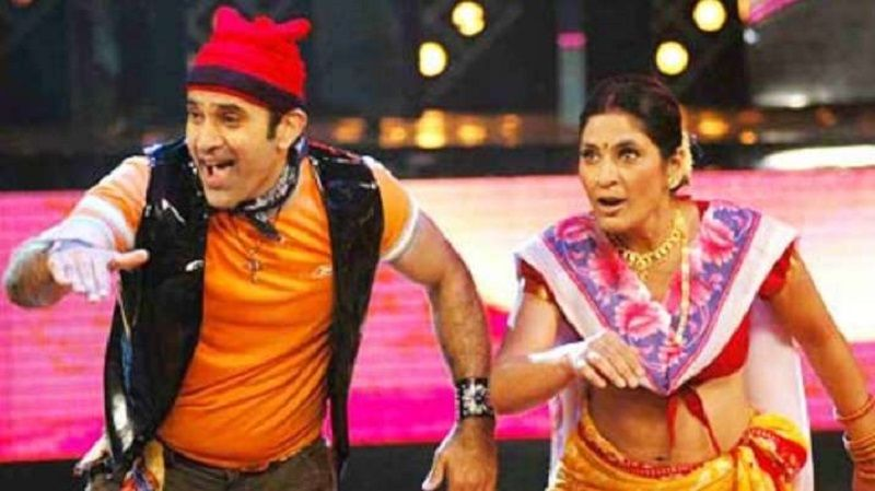 Parmeet Sethi and Archana Puran Singh in Nach Baliye