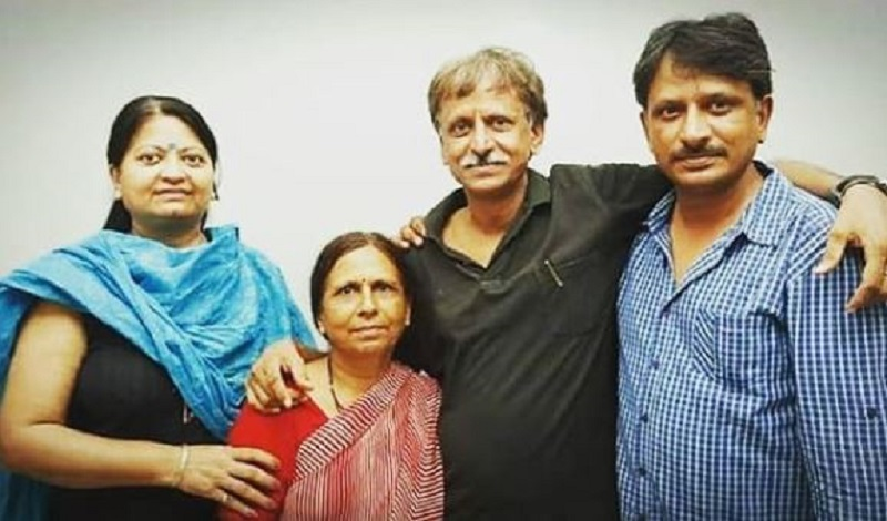 Rajesh Tailang With His Family