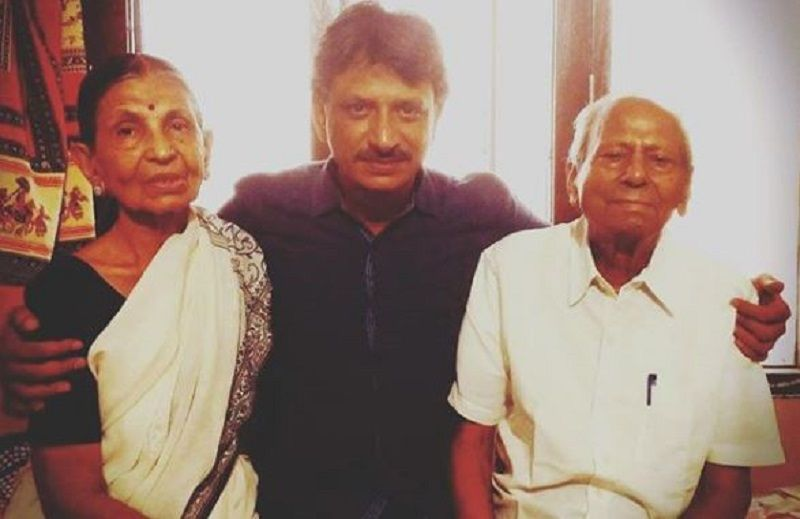 Rajesh Tailang With His Parents