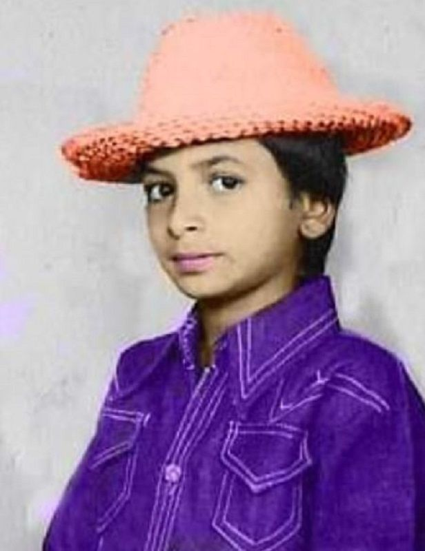 Rajesh Tailang's Childhood Picture