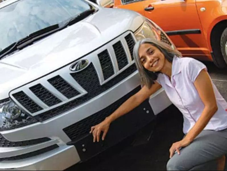 Ramkripa Ananthan with new XUV 500