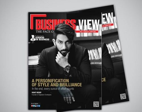 Rohit Reddy Featured on a Magazine Cover