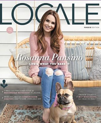Rosanna Pansino on the Cover of Locale Magazine
