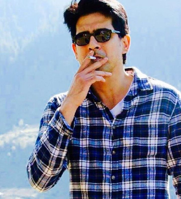 Samir Sharma Smoking