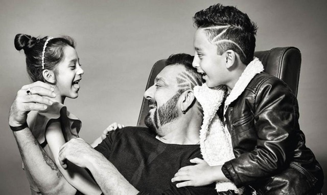 Sanjay Dutt's photoshoot with children