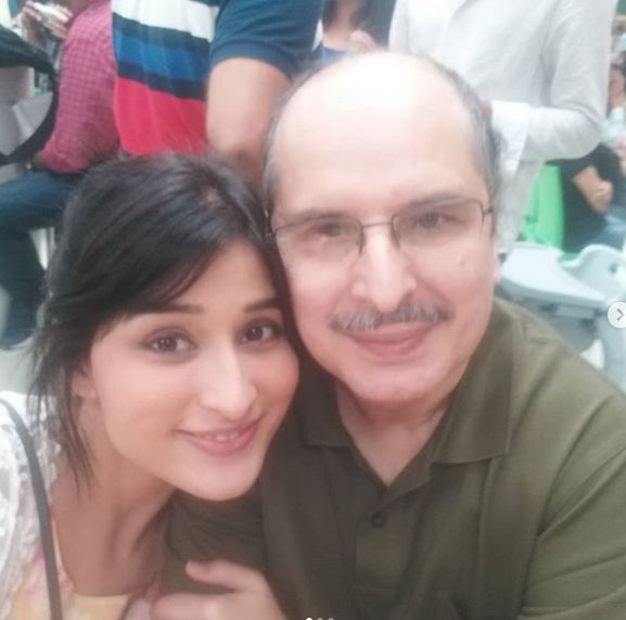 Sheen Dass with her father