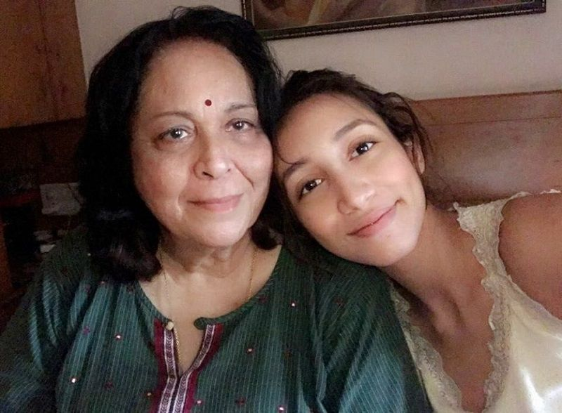 Shreya Chaudhary With Her Maternal Grandmother