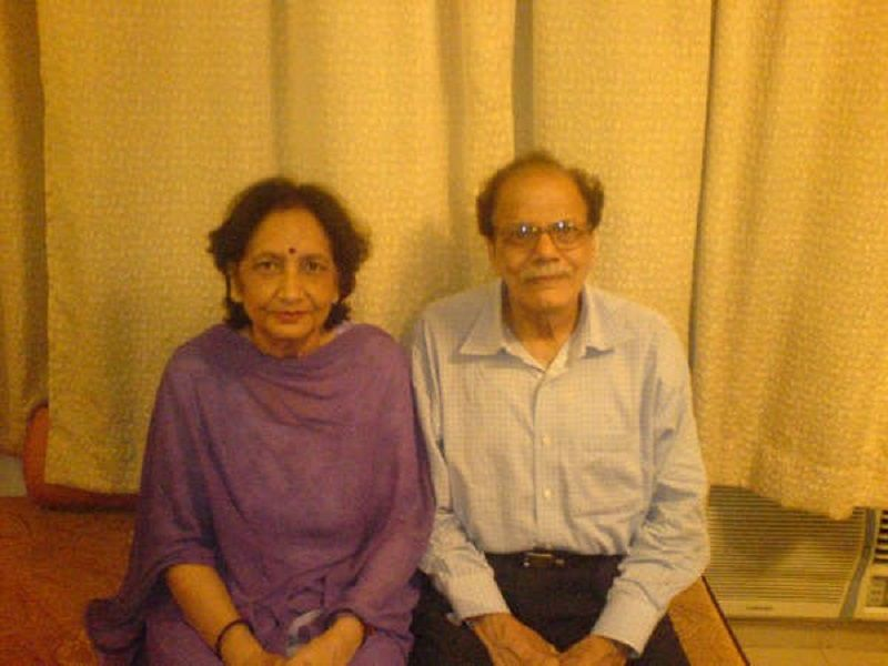Shreya Chaudhary's Grandparents