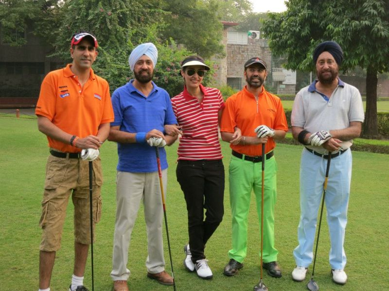 Simar Dugal at Delhi Golf Club