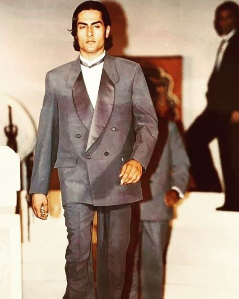 Sudhanshu Pandey in his modelling days