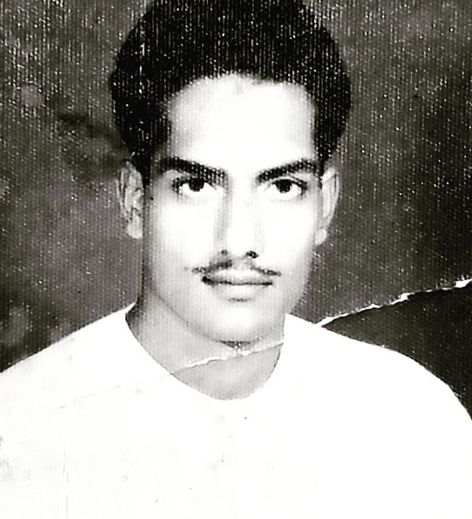 Sudhanshu Pandey's father