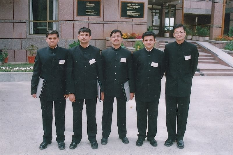 Tukaram Mundhe with his IAS batchmates