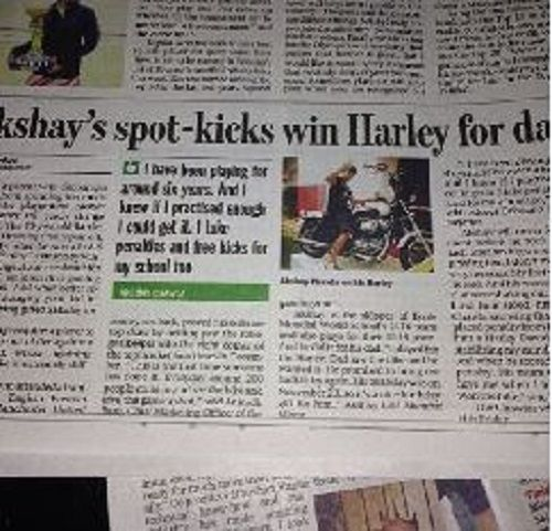 A News Article on Akshay Chawla