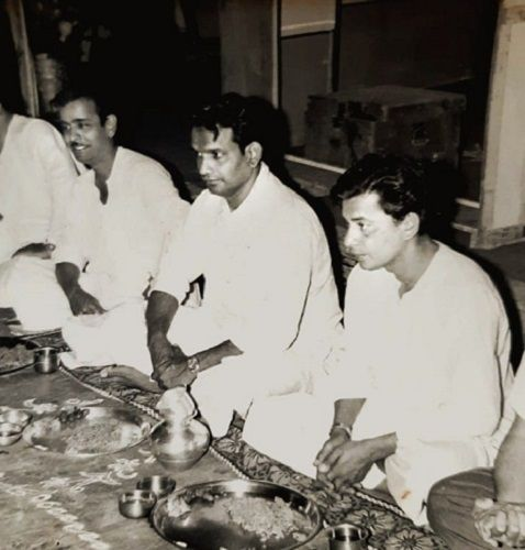 An Old Picture of Dr. Kashinath Ghanekar