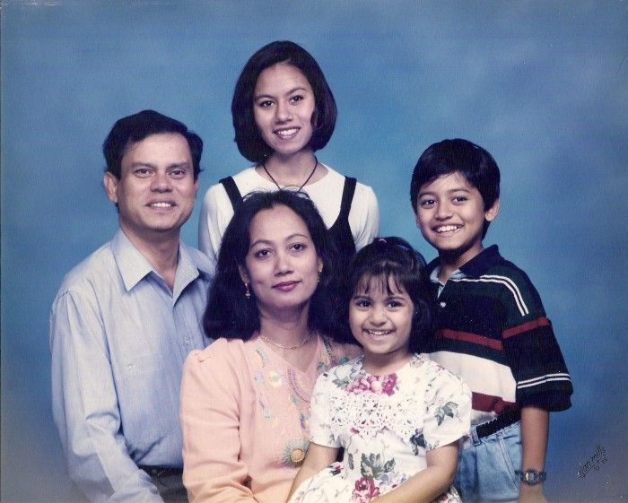 An old family picture of Fahim Saleh