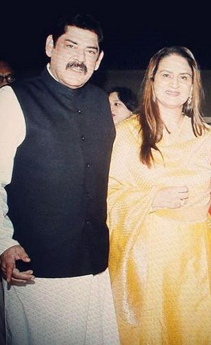 Anita Dheer and Her Husband