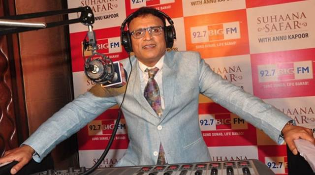 Annu Kapoor at the radio station